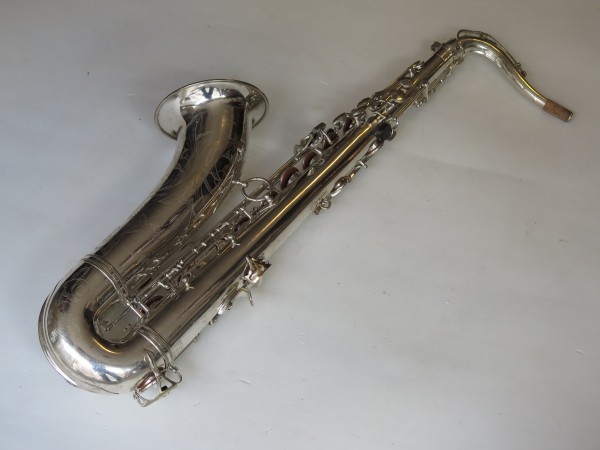 Saxophone ténor Selmer Mark VI argenté gravé (13)