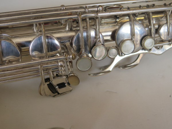 Saxophone ténor Selmer Mark VI argenté gravé (4)