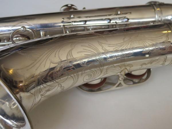 Saxophone ténor Selmer Mark VI argenté gravé (5)