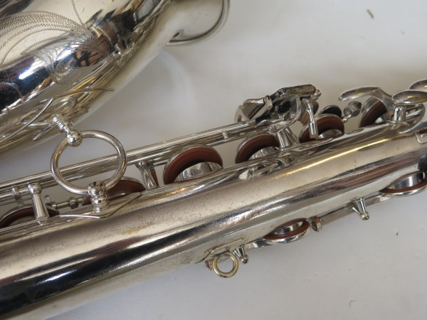 Saxophone ténor Selmer Mark VI argenté gravé (6)