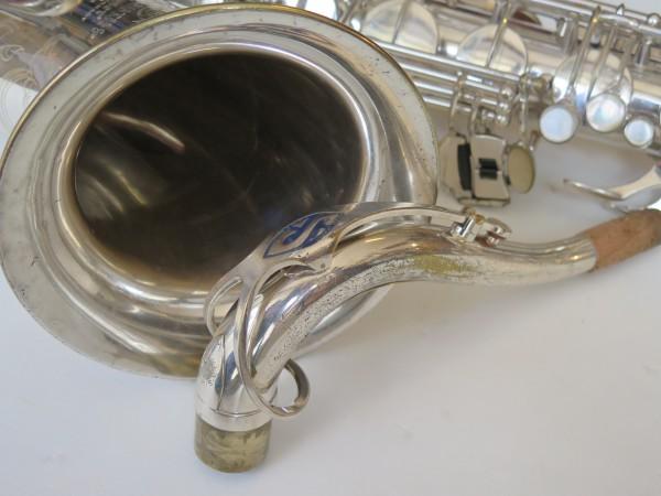 Saxophone ténor Selmer Mark VI argenté gravé (8)