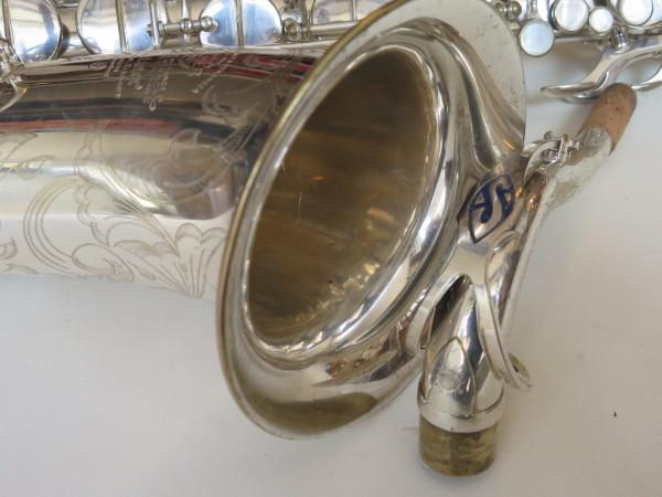 Saxophone ténor Selmer Mark VI argenté gravé (9)