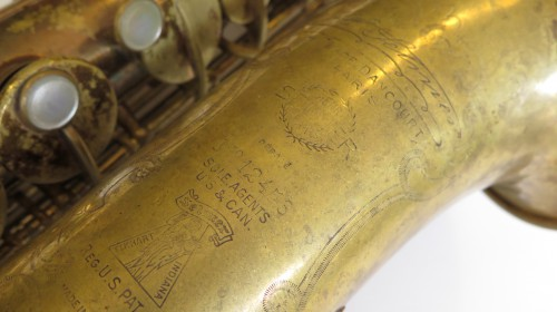 Saxophone alto Selmer Super verni (1)