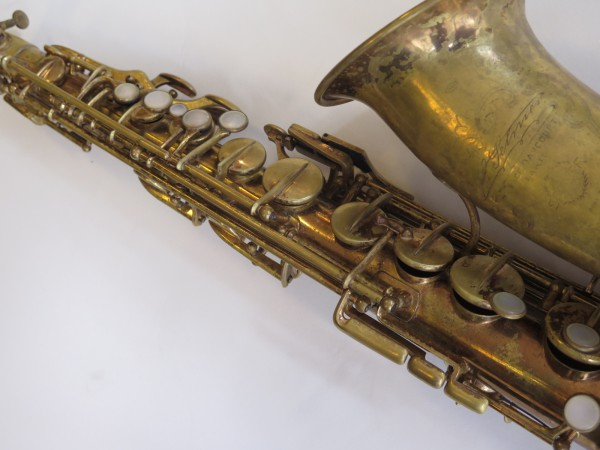 Saxophone alto Selmer Super verni (11)