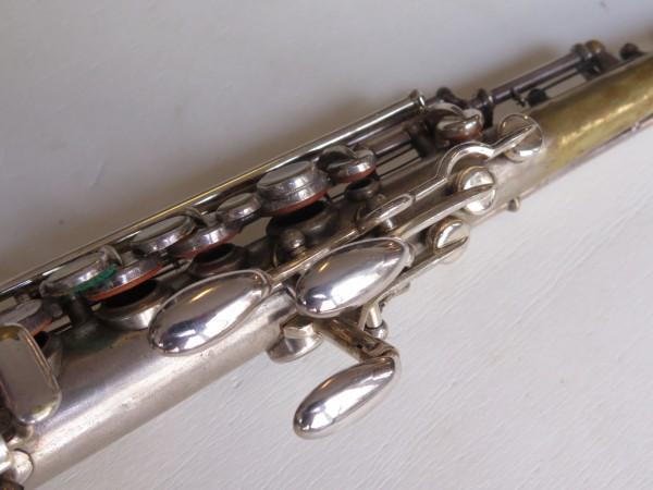 Saxophone soprano Martin handcrafted argenté (11)
