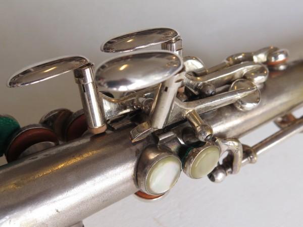 Saxophone soprano Martin handcrafted argenté (12)
