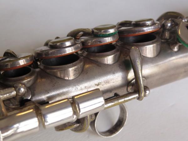 Saxophone soprano Martin handcrafted argenté (2)