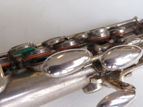 Saxophone soprano Martin handcrafted argenté (3)