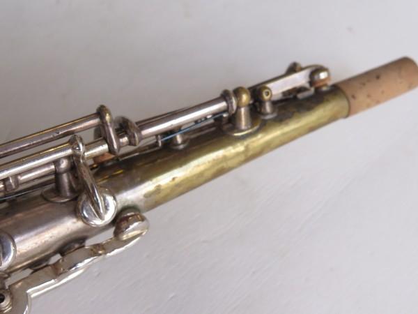 Saxophone soprano Martin handcrafted argenté (4)
