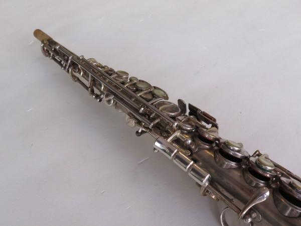Saxophone soprano Martin handcrafted argenté (7)