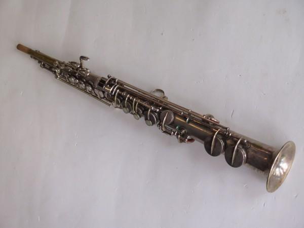 Saxophone soprano Martin handcrafted argenté (8)