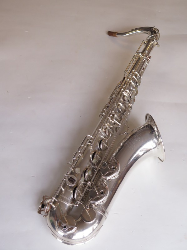 Saxophone ténor Selmer balanced action argenté (10)