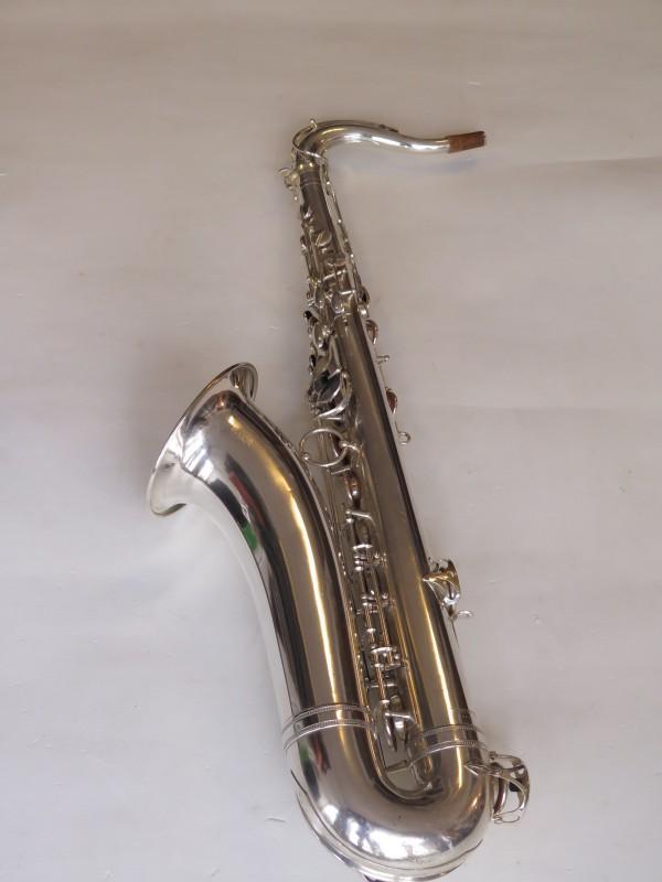 Saxophone ténor Selmer balanced action argenté (2)