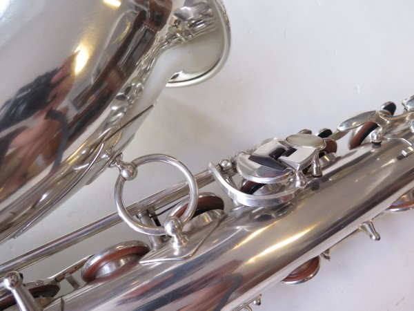 Saxophone ténor Selmer balanced action argenté (3)