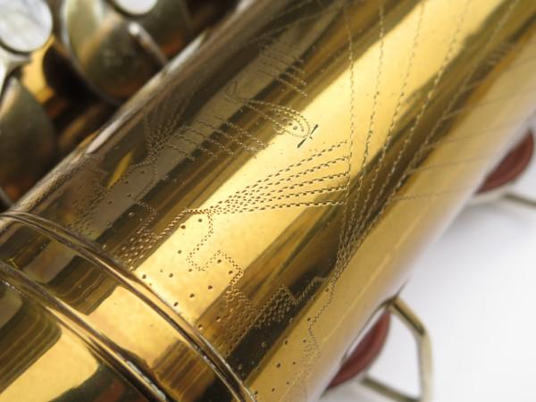 Saxophone ténor Martin committee 2 verni gravé (1)