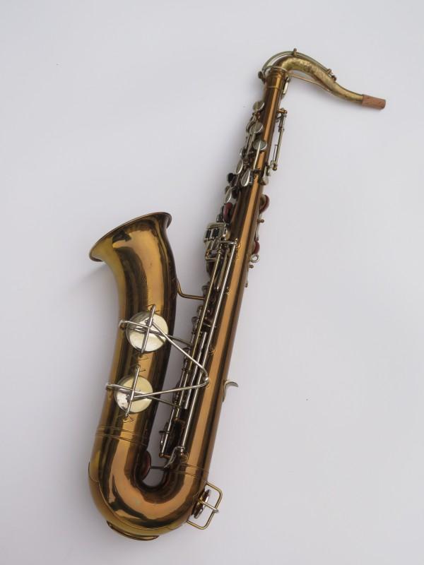 Saxophone ténor Martin committee 2 verni gravé (12)
