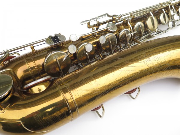 Saxophone ténor Martin committee 2 verni gravé (3)