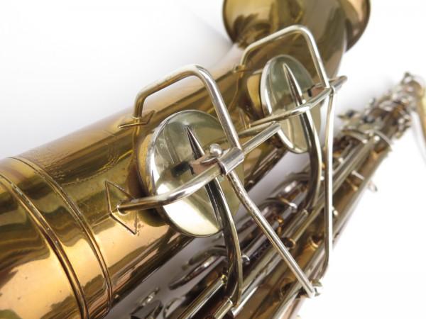 Saxophone ténor Martin committee 2 verni gravé (5)