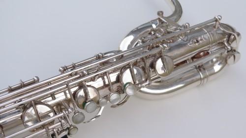 saxophone baryton Selmer Mark 6 argenté (1)