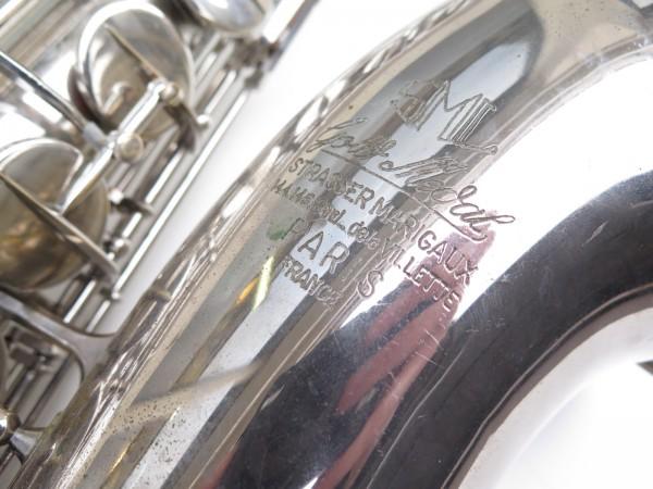 Saxophone ténor SML gold medal nickelé (1)