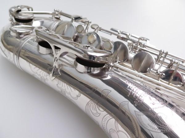 Saxophone ténor Selmer Mark 6 argenté gravé plaqué or (10)