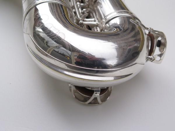 Saxophone ténor Selmer Mark 6 argenté gravé plaqué or (14)