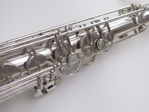 Saxophone ténor Selmer Mark 6 argenté gravé plaqué or (3)