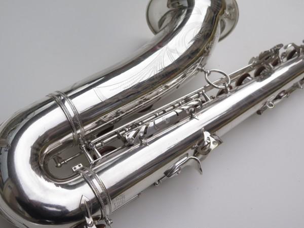 Saxophone ténor Selmer Mark 6 argenté gravé plaqué or (4)