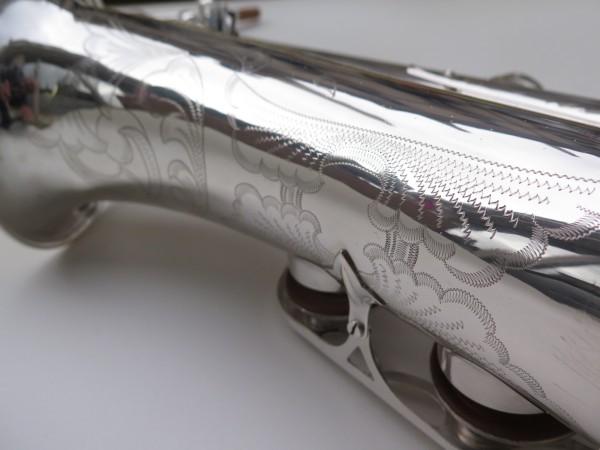 Saxophone ténor Selmer Mark 6 argenté gravé plaqué or (5)