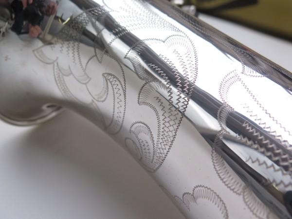 Saxophone ténor Selmer Mark 6 argenté gravé plaqué or (6)