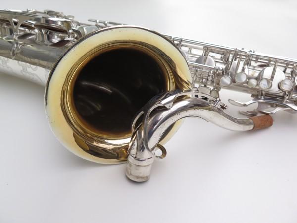 Saxophone ténor Selmer Mark 6 argenté gravé plaqué or (7)