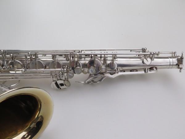 Saxophone ténor Selmer Mark 6 argenté gravé plaqué or (9)