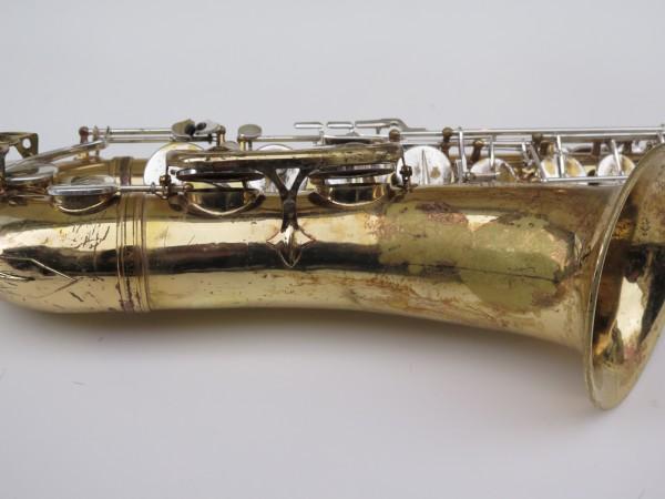 Saxophone ténor Selmer Mark 6 verni clétage argenté (11)