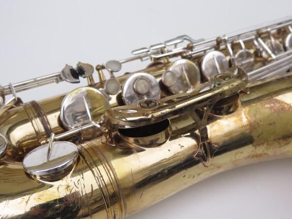 Saxophone ténor Selmer Mark 6 verni clétage argenté (12)