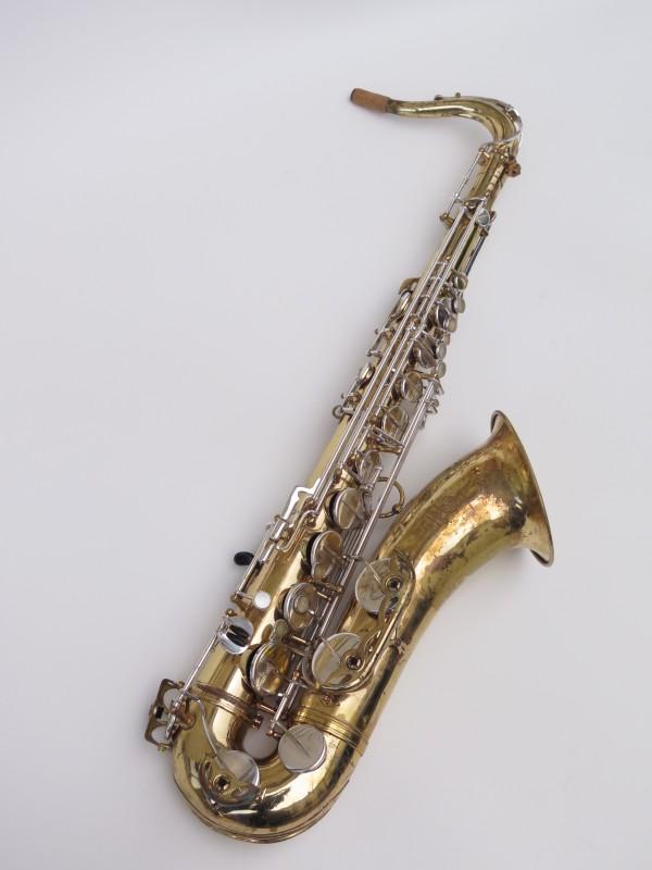 Saxophone ténor Selmer Mark 6 verni clétage argenté (3)