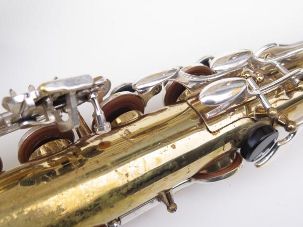 Saxophone ténor Selmer Mark 6 verni clétage argenté (8)