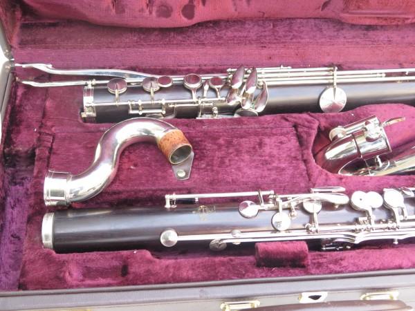 Clarinette basse Buffet Crampon Mib grave (5)