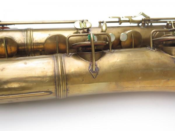 Saxophone baryton Conn 12M verni (4)