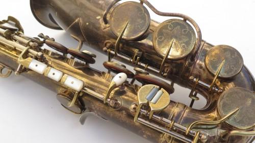 Saxophone alto King Zephyr Special verni gravé (1)