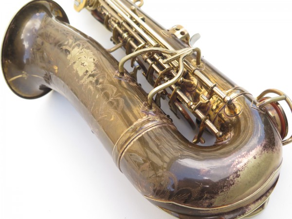 Saxophone alto King Zephyr Special verni gravé (10)