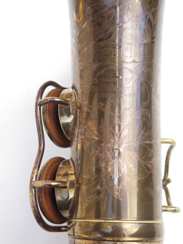 Saxophone alto King Zephyr Special verni gravé (11)