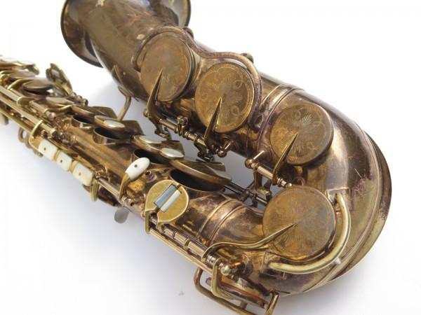 Saxophone alto King Zephyr Special verni gravé (12)