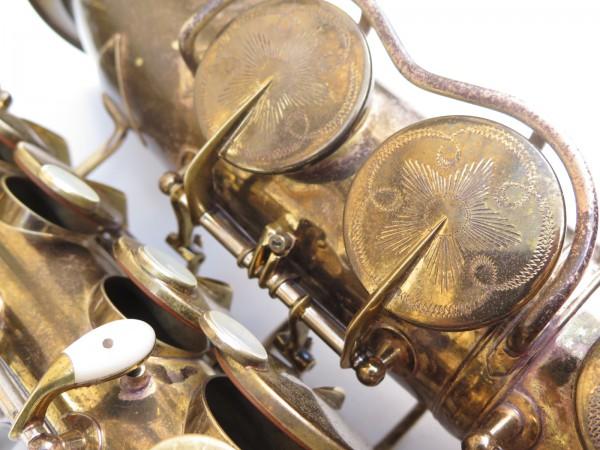 Saxophone alto King Zephyr Special verni gravé (13)