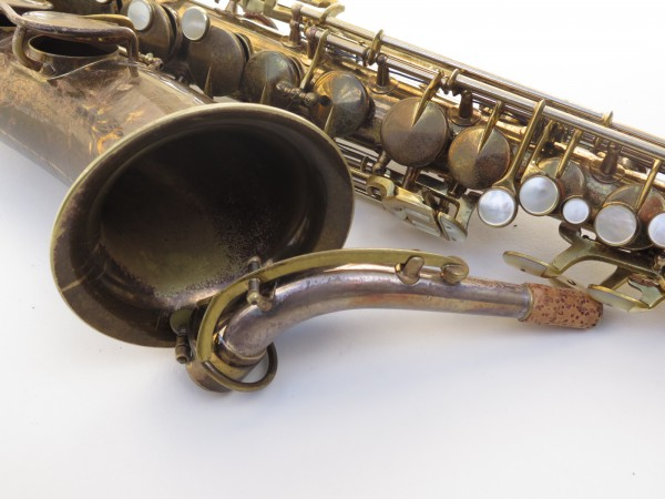 Saxophone alto King Zephyr Special verni gravé (21)