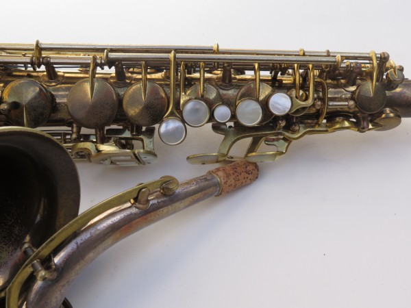Saxophone alto King Zephyr Special verni gravé (22)