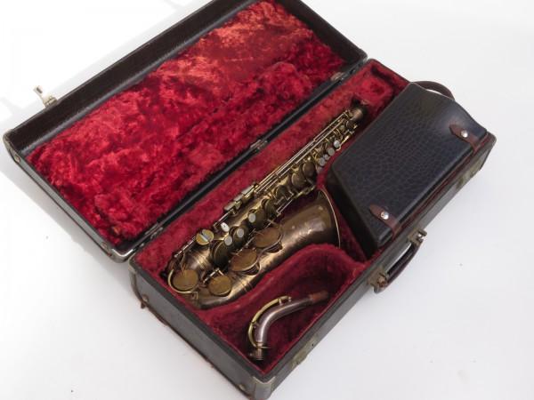 Saxophone alto King Zephyr Special verni gravé (3)