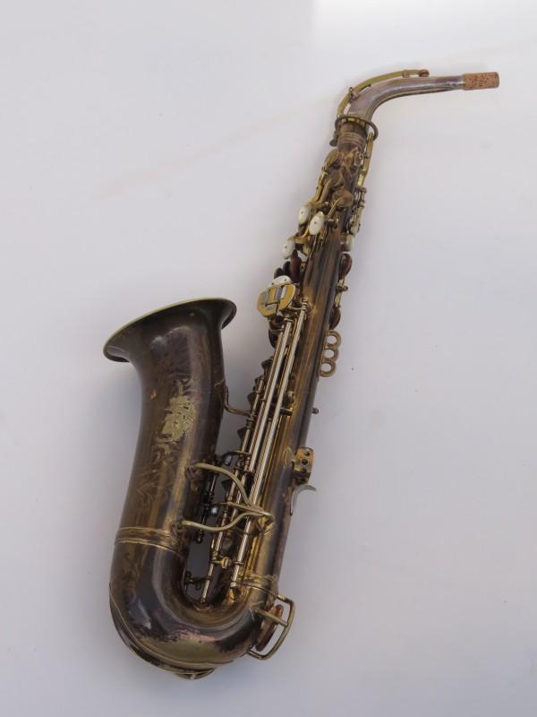 Saxophone alto King Zephyr Special verni gravé (9)