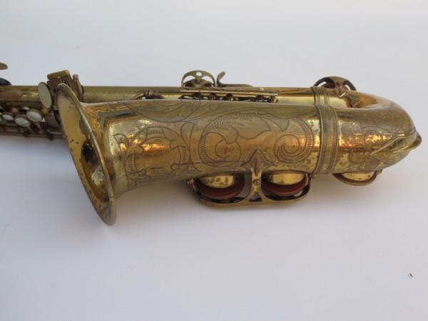 Saxophone alto Selmer Mark 6 verni gravé (12)