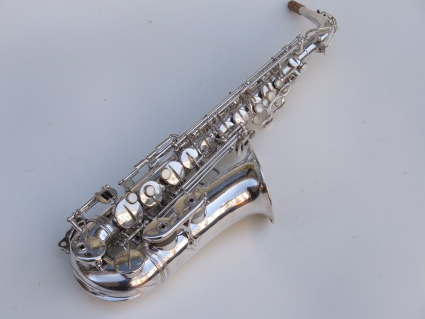 Saxophone alto Selmer Super Balanced Action argenté (2)