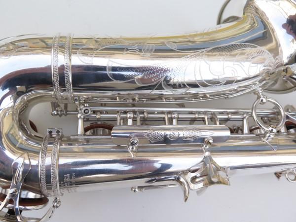 Saxophone alto Selmer Super Balanced Action argenté gravé (12)